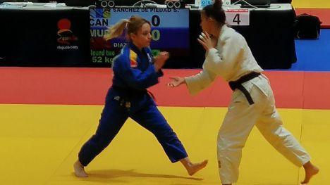 Irene Díaz, bronce en el Campeonato de España en categoría -52kg