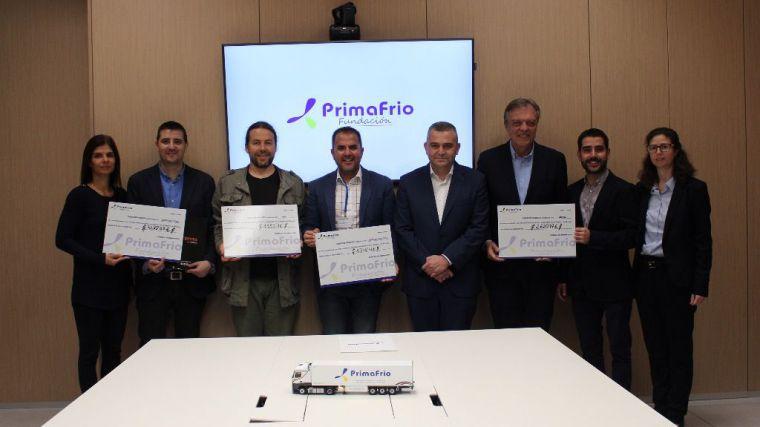 Primafrio dona a ONGs lo recaudado con la venta de maquetas solidarias de camiones