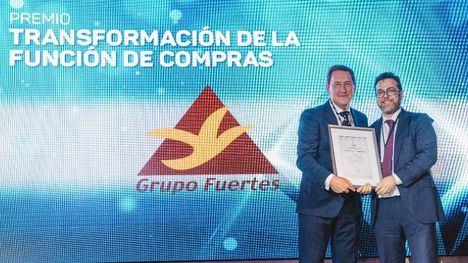 Grupo Fuertes, premio nacional al proyecto de Transformación de Compras 2019