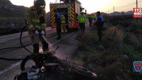 Un motorista de 20 años fallece en un accidente en Mazarrón