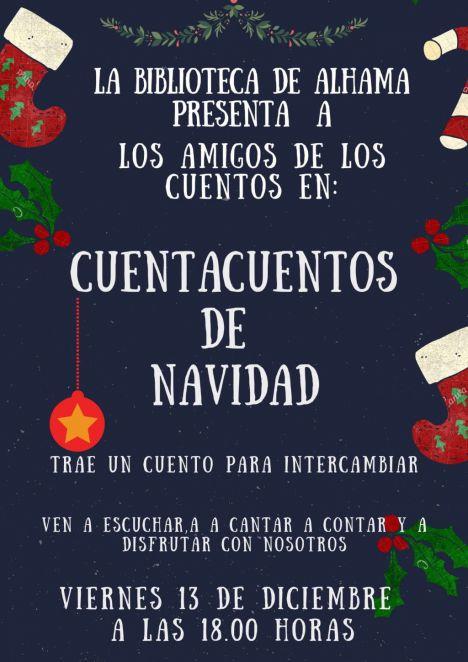 La Biblioteca acoge este viernes una sesión de cuentos navideños