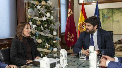 """López Miras, dispuesto a buscar """"mecanismos"""