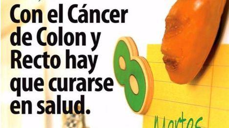 La campaña de detección del cáncer de colon, en enero