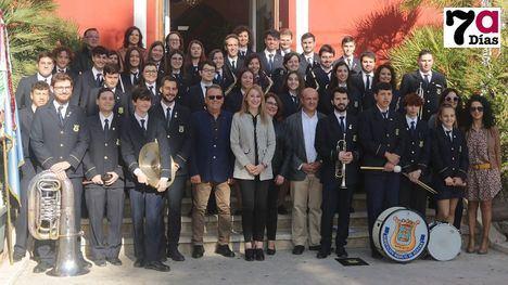 VÍDEO Felicitación oficial a la Banda por su 1º Premio Nacional
