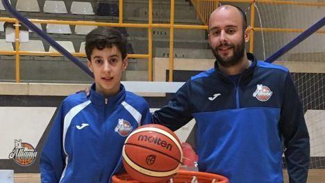 Un alhameño, en la Selección Murciana de Baloncesto