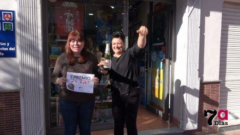 Alhama, agraciada con uno de los 5º premios de la Lotería de Navidad