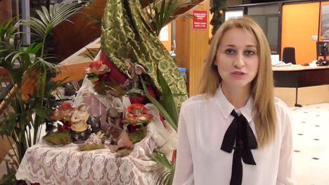 VÍD. La alcaldesa de Alhama desea una feliz Navidad a los vecinos