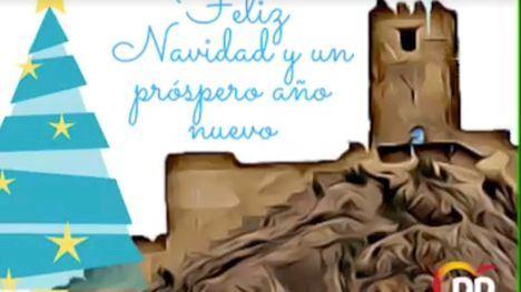 VÍD. La familia popular alhameña felicita las fiestas a los vecinos