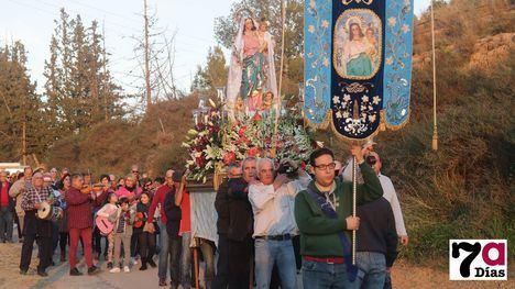 V/F Alegría en la bajada de la Candelaria a la Concepción