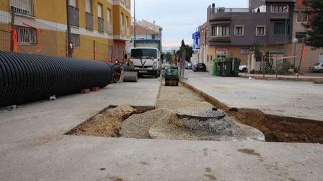 Nuevo colector para aguas pluviales en la calle Alquerías