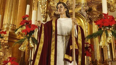 Misas en honor de la Virgen de la Esperanza y de San Juan Evangelista