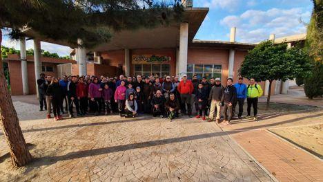 Éxito de la ruta guiada en el Barranco del Infierno en Librilla