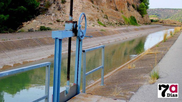 Trasvase Tajo-Segura a su paso por Alhama de Murcia