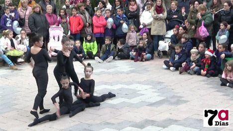 VÍDEO Exhibición navideña de baile de alumnos de SportGym