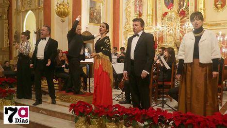 VÍD./FOT. Espectacular concierto navideño en la iglesia de Librilla