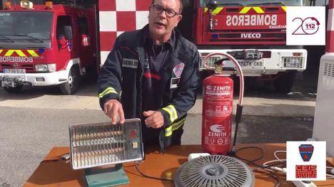 VÍDEO Consejos para evitar incendios por mal uso de aparatos de calor