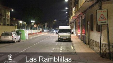 El Ayuntamiento renueva 700 farolas con iluminación LED