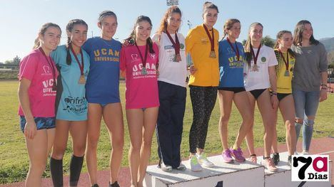 FOTOS Múltiples podios para el Club Atletismo Alhama