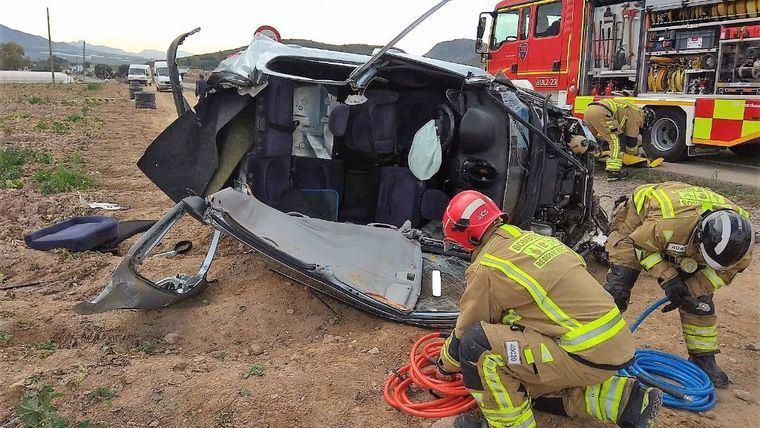 Trágico fin de semana en las carreteras de la Región con 4 fallecidos