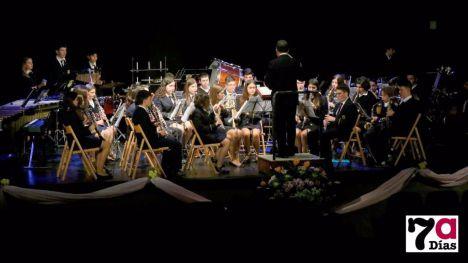 La Banda Juvenil actúa este domingo en el Víctor Villegas