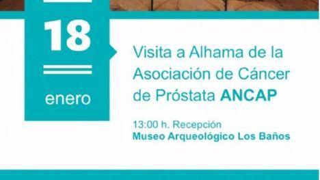 La Asociación Nacional de Cáncer de Próstata visita Alhama