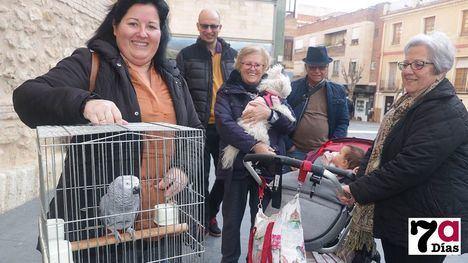 VÍD./FOT. Bendiciones para las mascotas de Alhama por San Antón