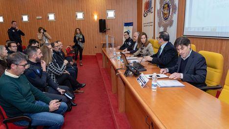 Los agentes en prácticas de Alhama se forman en la ESPAC de Cartagena