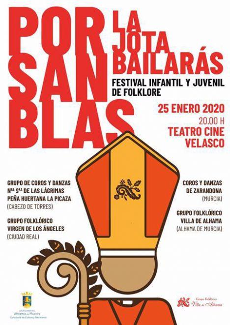 El sábado 25 vuelve el festival 'Por San Blas, la jota bailarás'