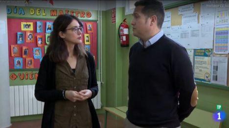 El CEIP Ricardo Codorníu, protagonista en La1 de RTVE