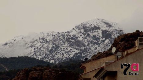 VÍDEO Aquí Gloria y después, nieve en Sierra Espuña