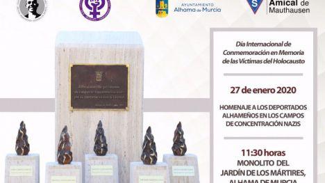 Alhama homenajea a los deportados alhameños el lunes 27