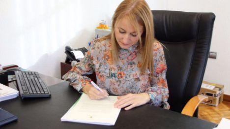 Imagen de la segunda carta que la alcaldesa Mariola Guecara envió a Fernando López Miras el pasado mes de octubre. La primera fue en julio.