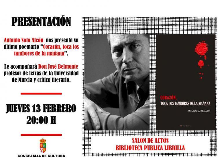 Antonio Soto Alcón presenta en Librilla su nuevo poemario
