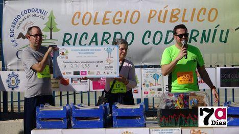 V/F La solidaridad del CEIP Ricardo Codorníu bate récord por CEOM