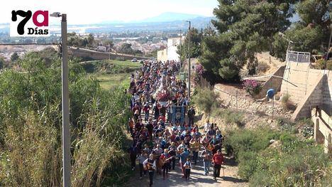 V/F La Romería de la Candelaria se anima con un domingo primaveral