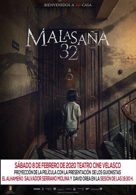El alhameño Salvador Serrano presenta Malasaña 32 en Alhama