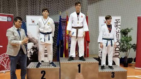 FOT. Nuestros judocas se suben al podio en la Copa de Judo UMU