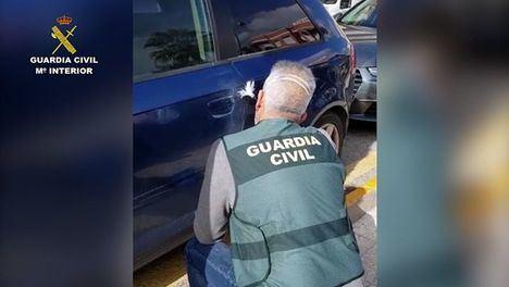 V/F Detenidos tres menores por daños en 13 coches en Mazarrón