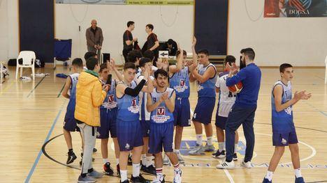 Victoria de los cadetes del CB Alhama contra Rayo Moratalla