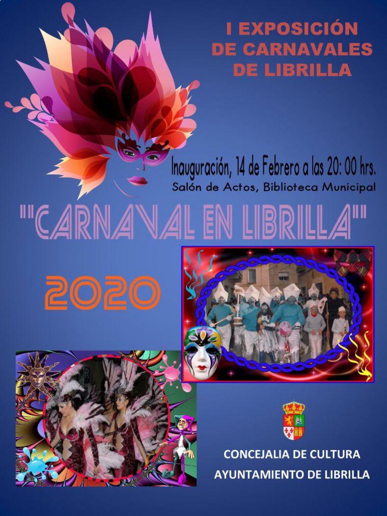 La Biblioteca de Librilla acoge una exposición sobre los carnavales