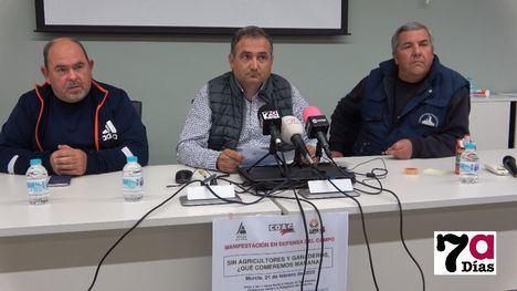 VÍD. Agricultores y ganaderos de Alhama llaman a la movilización