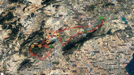 La Vuelta a Murcia pasa este sábado por Sierra Espuña y Alhama