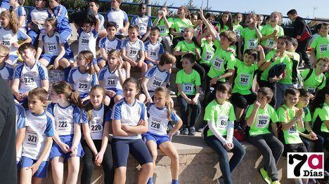 VID/FOT El cross escolar reúne a decenas de niños en el Guadalentín