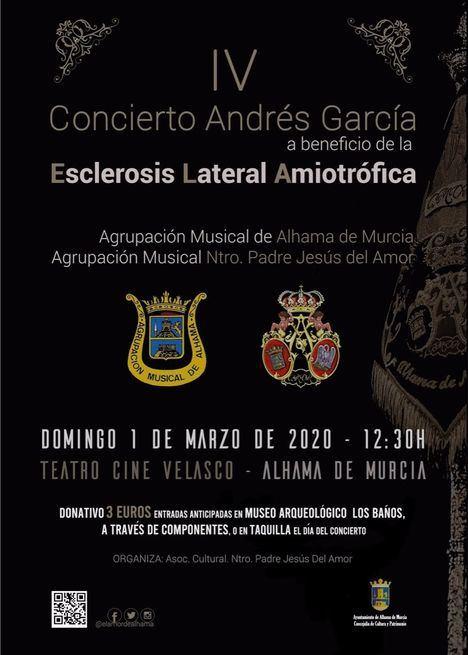 El concierto de 'El Amor de Alhama' contra la ELA, el 1 de marzo