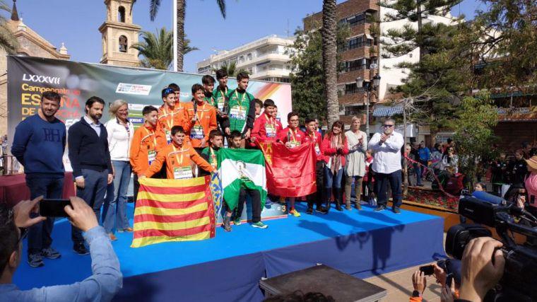 Bronce para el atleta Miguel García en el Nacional de Marcha