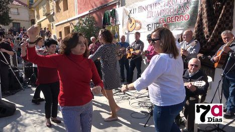 V/F Sol, música y baile en el XII Encuentro de Cuadrillas de El Berro