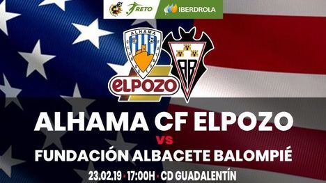 El Alhama CF ElPozo se enfrenta este domingo al Fund. Albacete