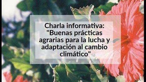 El Vivero acoge una charla sobre agricultura y cambio climático