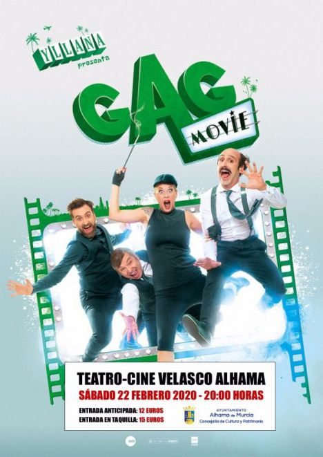Yllana regresa a Alhama este sábado con la comedia 'Gag movie'
