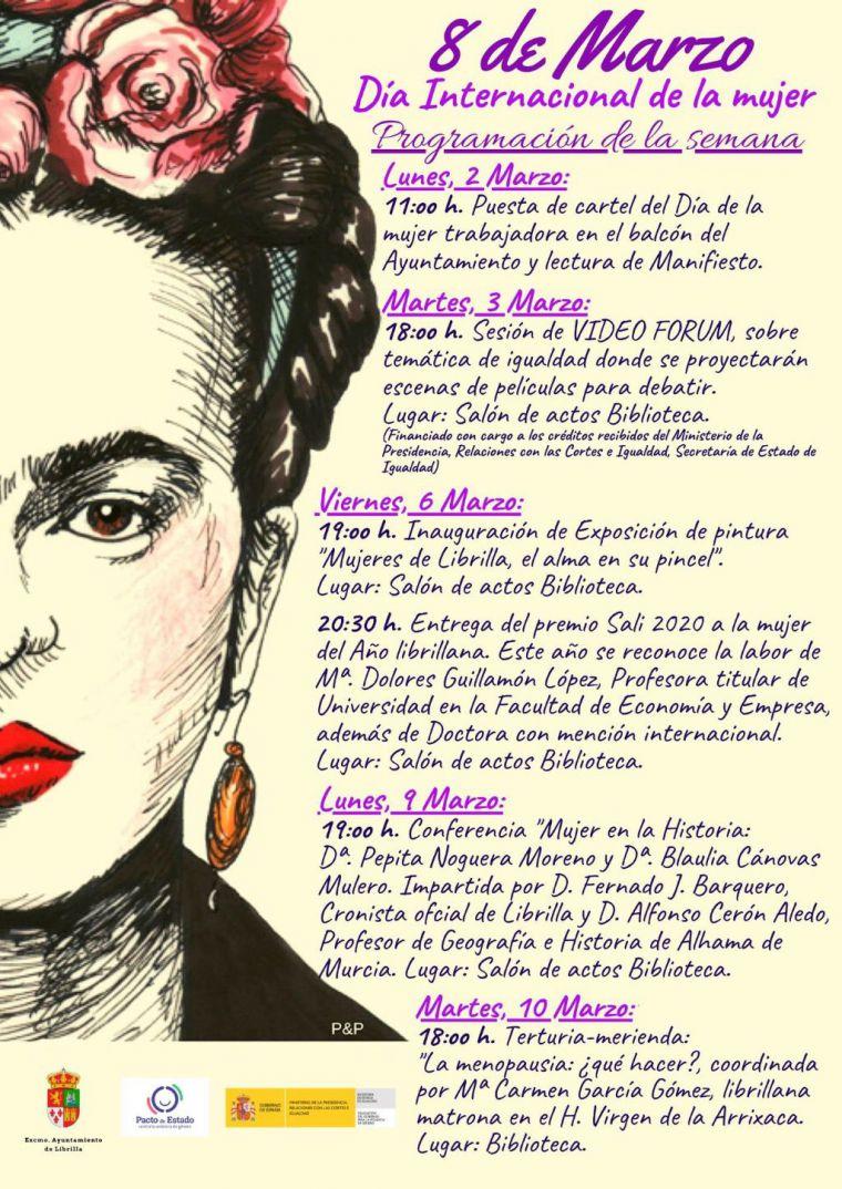 Mª Dolores Guillamón, Premio Sali 2020 a la Mujer Librillana del Año